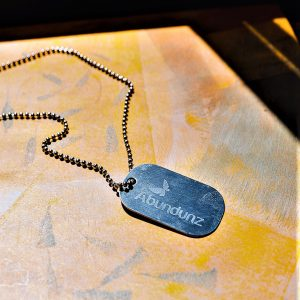 Unity Tag Necklace Stainless Steel